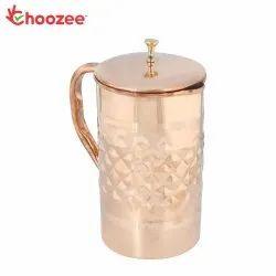 Choozee - Copper Jug (Diamond) - 2.2 Ltr.