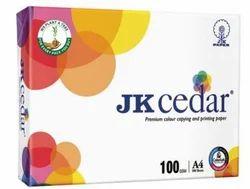 White JK Cedar Premium Colour Copying And Printing Paper