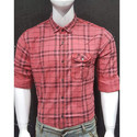 Slim Fit Mens Check Shirt