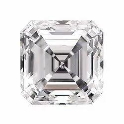 Square Emerald Diamond 4.01ct H VS2 CVD TYPE2A IGI Certified