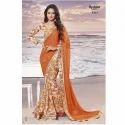 Trendy Chiffon Printed Saree