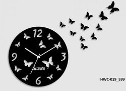 Acrylic Designer Wall Clock