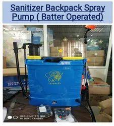 Sanitiser Backpack Spray Pump