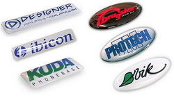 Automobile Doming Labels, Packaging Type: Box