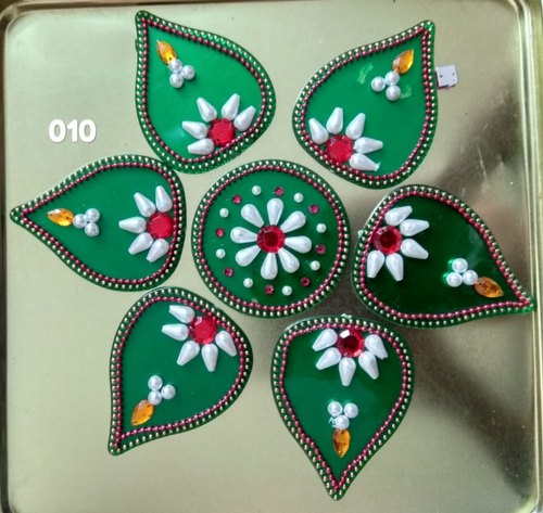 Bright Acrylic Rangoli, Packaging Type: Packet Wise