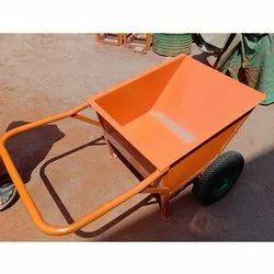 Double Wheel Barrow Trolley