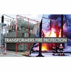 Mild Steel Transformers Fire Protection System, For Industrial