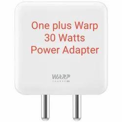 One plus Warp 30 Watts Power Adapter