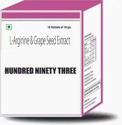L Arginine & Grape Seed Extract