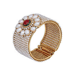 Antique Look Jewellery Gold Plated Traditional Bracelet