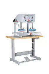 HI-OCTANE Automatic Heat Press Machine, Garments, Printing To Be Done On: T-Shirt