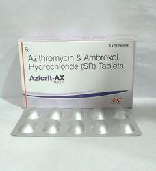 Azithromycin & Ambroxol Hydrochloride (SR) Tablets