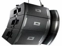 Black JBL VRX932LA-1 12 Two-Way Line Array Speaker