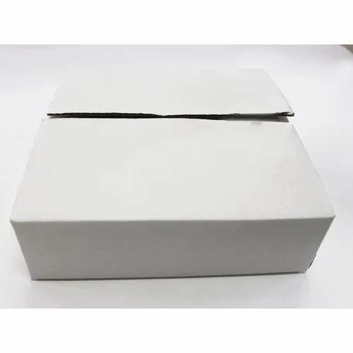 3 Ply White Corrugated Box