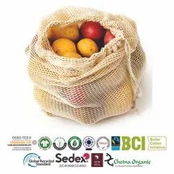 Eco-Cotton String Bags
