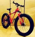 Ferrari Red Dolphin Fat Tyre Cycle