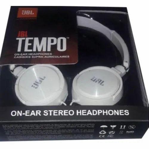 34bd9867cd2 JBL Tempo On Ear Stereo Headphone, Model Number: J03B, Rs 160 /piece ...
