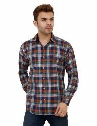Cotton Check Shirts For Men