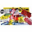 Industrial Sticker Label