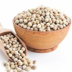 Dry Organic White Pepper