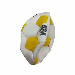 PU Yellow And White Football Ball