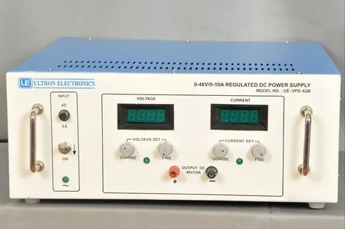 0-48V/0-10A Variable DC Power Supply - Ultron Electronics, Hyderabad
