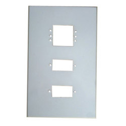 White Plastic Switch Plate