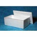 White Normal Eps Dry Ice Foam Box, For Packaging, Capacity: 20 Litre
