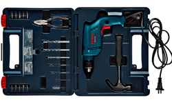 Bosch GSB 13 Re Impact Drill Kit, 0 - 2800 Rpm