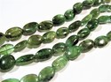 Natural Zambian Genuine Emerald Panna Oval Stone Beads