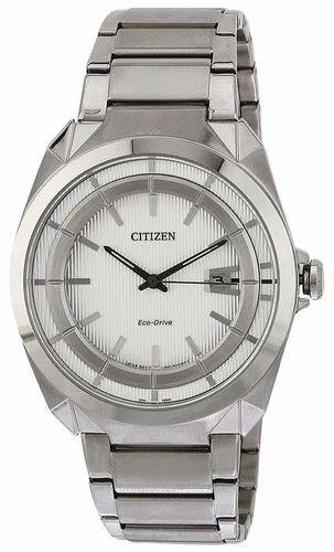 Citizen Eco Drive Analog White Dial Mens Watch