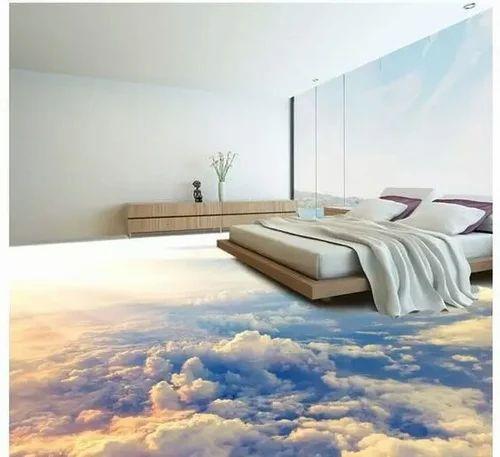 3D Epoxy Floor Kitchen