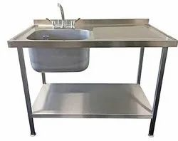 SS Table Sink Unit
