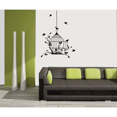 pvc vinyl wall sticker, rs 75 /sq, caterpillar signs private limited