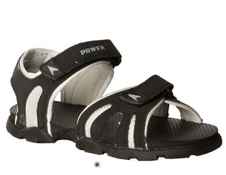 cf2d34e01a52 Bata Power Men  s Black Sandals