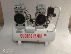 Sudershan 2 HP Oil Free Air Compressor, Maximum Flow Rate (Cfm): 16500, Model Name/Number: Ptc550