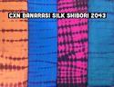 C X N Banarasi Silk Shibori Printed Fabric
