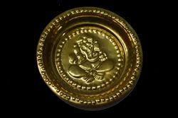 Brass Round Plate
