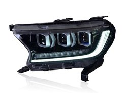 12 Volt Plastic New Endeavor Modify Headlight bogardi type