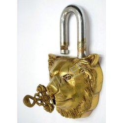Times Creation Nautical Brass Vintage Door Lock, Packaging Type: Corrugated Box, Chrome