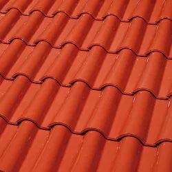 Tejas Borja Clay Crystal Red Roof Tiles, Dimensions: 258 X 442 Mm