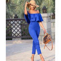 Ladies Blue Jumpsuit