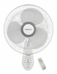Platina Remote White Wall Fan