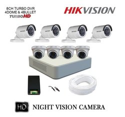 8 CH CCTV Surveillance System Kit