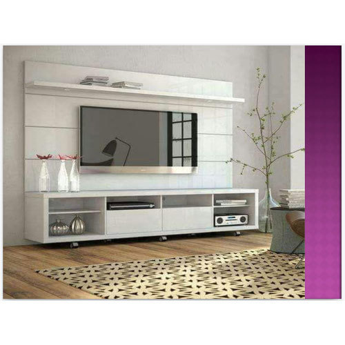 Modern White TV Unit Warranty 1 Year