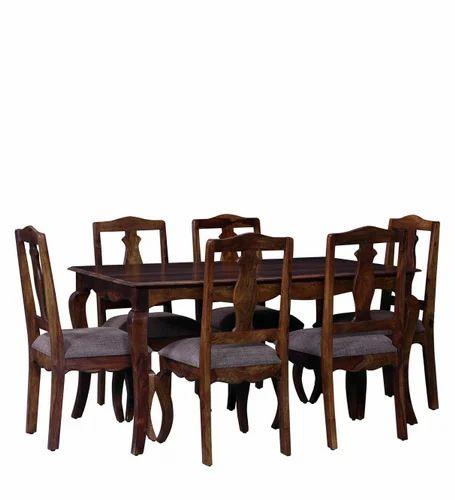 Handmade Wooden Dining Table Set