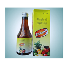 B - Complex with Lysine Syrup