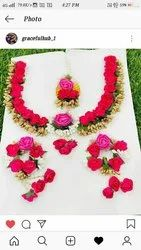Artificial flowers jewelry