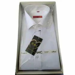 White Men Satin party wear Shirt