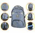 Grey School Bag